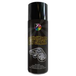 Spray antislittante per cinghie